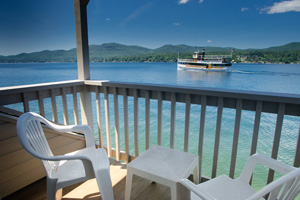 Lake George summer vacation resort